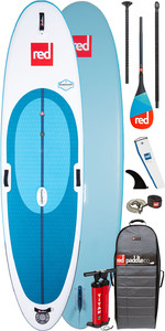 "2020 Red Paddle Co Windsurf 10'7 ""aufblasbares Stand Up Paddle Board - Carbon 50 Paddelpaket"