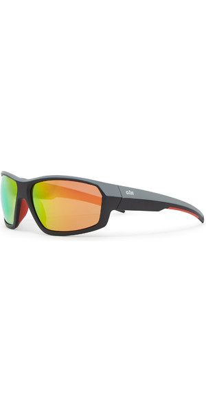2019 Gill Race Fusion Sunglasses Tango / Orange Mirror RS26