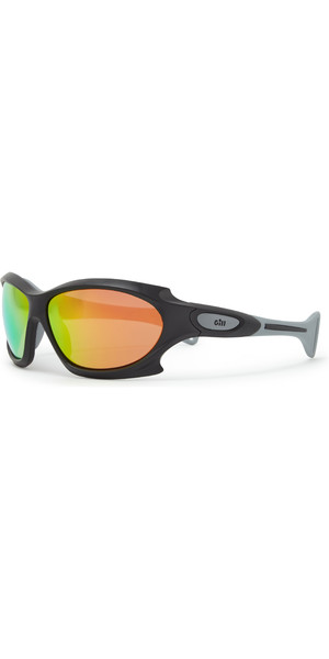 2019 Gill Race Ocean Sunglasses Black / Orange RS27