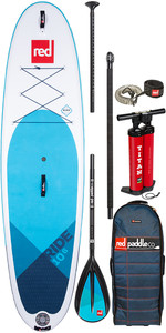 "2020 Red Paddle Co Ride Msl 10'6 ""inflável Stand Up Paddle Board - Pacote De Remos De Liga Leve"