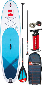 "2020 Red Paddle Co Ride Red Paddle Co Msl 10'6 "" Stand Up Paddle Board Gonflable - Paquet Midi En Carbone / Nylon"