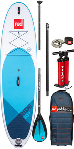 "2020 Red Paddle Co Ride Msl 10'8 ""aufblasbares Stand Up Paddle Board - Leichtmetallpaket"