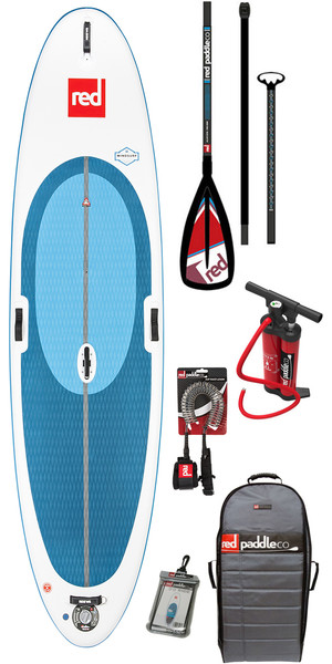 2018 Red Paddle Co WindSurf 10'7 inflables Stand Up Paddle Board + bolsa, bomba, paleta y correa