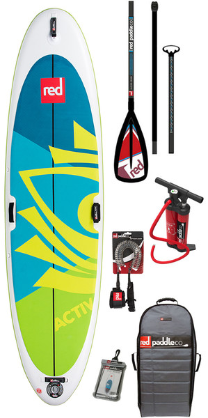 2018 Red Paddle Co Activ Yoga 10'8 inflables Stand Up Paddle Board + bolsa, bomba, paleta y correa