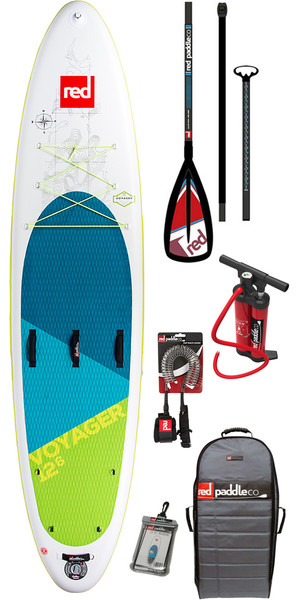 2018 Red Paddle Co Voyager 12'6 inflables Stand Up Paddle Board + bolsa, bomba, paleta y correa