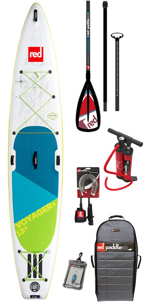 2018 Red Paddle Co Voyager 13'2 inflables Stand Up Paddle Board + bolsa, bomba, paleta y correa
