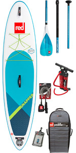 "2019 Red Paddle Co Snapper 9'4 "" Stand Up Paddle Board Surf Inflable Para Niños + Bolsa, Bomba, Paleta Y Correa"