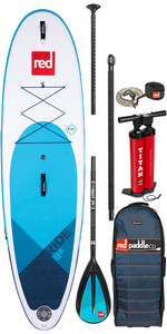 "2020 Red Paddle Co Ride Msl 9'8 ""aufblasbares Stand Up Paddle Board - Legierungspaket"
