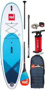 "Red Paddle Co Paddel Red Paddle Co Ride Msl 9'8 ""aufblasbares Stand Up Paddle Board Paddel Stand Up Paddle Board - Carb"