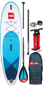 "2020 Red Paddle Co Ride Msl 9'8 ""aufblasbares Stand Up Paddle Board - Carbon / Nylon Midi Paket"