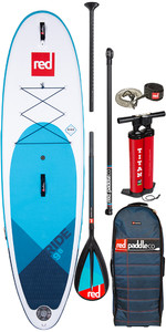 "2020 Red Paddle Co Ride Msl 9'8 ""oppustelig Stand Up Paddle Board - Carbon / Nylon Pakke"
