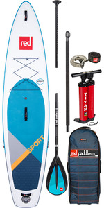 "Red Paddle Co Sport Msl 11'0 "" Stand Up Paddle Board Gonflable - Paquet En Alliage"