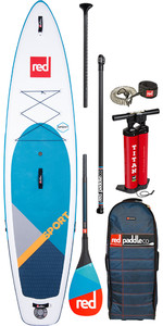 "2020 Red Paddle Co Sport Msl 11'3 ""aufblasbares Stand Up Paddle Board - Carbon 50 Paket"