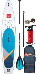 "2020 Red Paddle Co Sport Msl 12'6 ""gonfiabile Stand Up Paddle Board - Pacchetto In Lega"