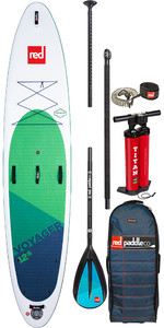 "Red Paddle Co Voyager 12'6 ""gonfiabile Stand Up Paddle Board - Pacchetto In Lega"