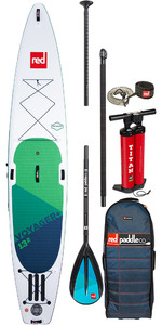 "Red Paddle Co Voyager Plus 13'2 ""opblaasbaar Stand Up Paddle Board - Legering Peddelpakket"
