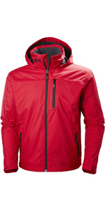 2019 Helly Hansen Hooded Crew Mid Layer Jacket Vermelho 33874