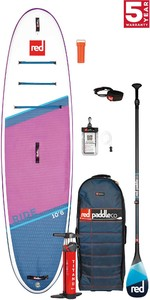 2021 Red Paddle Co Ride 10'6 SE Stand Up Paddle Board, Bag, Pump, Paddle & Leash - Carbon 100 Package