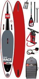 Red Paddle Co 10'6 Max Race Aufblasbares Stand Up Paddle Board Paddel Stand Up Paddle Board + Bag Pump Paddel & Leine