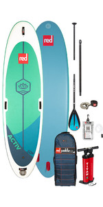 "2020 Red Paddle Co Activ Msl 10'8 ""aufblasbares Stand Up Paddle Board - Legierungspaket"
