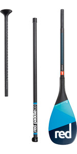 2020 Red Paddle Co Paddel Red Paddle Co Carbon 100 3-teiliges Paddelschloss