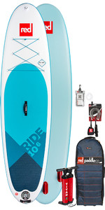 2019 Red Paddle Co Ride 10'6 Inflatable Stand Up Paddle Board Package - No Paddle
