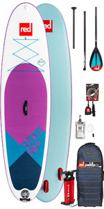 2019 Red Paddle Co Ride 10'6 SE Aufblasbares Stand Up Paddle Board - Carbon / Nylon Paket