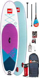 2019 Red Paddle Co Ride 10'6 Sí Inflable Stand Up Paddle Board - Carbono 50 Paquete