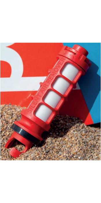2021 Red Paddle Co Leiser Luftentferner - Rot