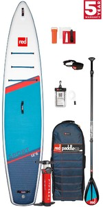 PRE ORDER - 2021 Red Paddle Co Sport 12'6 Touring Stand Up Paddle Board, Bag, Pump, Paddle & Leash - Carbon / Nylon Package