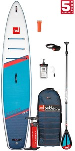 2021 Red Paddle Co Sport 12'6 Touring Stand Up Paddle Board, Bag, Pump, Paddle & Leash - Carbon / Nylon Package