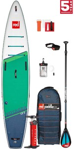 2021 Red Paddle Co Voyager 13'2 Touring Stand Up Paddle Board, Bag, Pump, Paddle & Leash - Carbon / Nylon Package