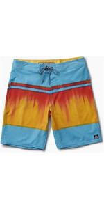 2019 Reef Mens Channel Boardshorts Blue RF0A3OKIBLU1
