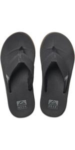 2020 Reef Mens Fanning Low Flip Flops / Sandals RF0A3KIH - Black