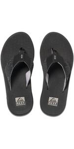 2020 Reef Mens Phantom II Flip Flops / Sandals RF0A3YMH - Black