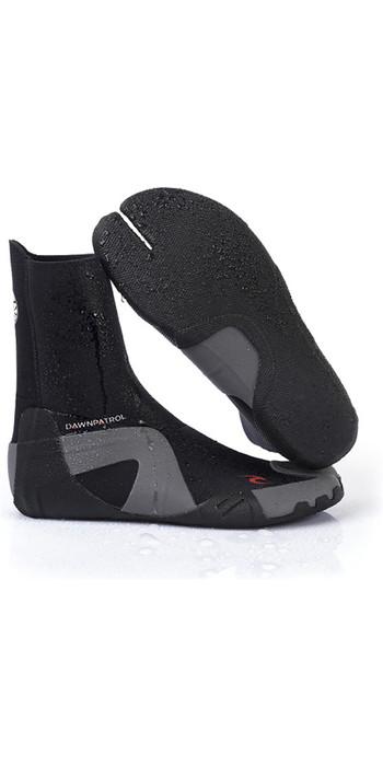 2021 Rip Curl Dawn Patrol 3mm Split Toe Wetsuit Boots WBO7AD - Black