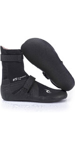 2019 Rip Curl Flashbomb 3mm Split Toe Neopren Boot BLACK WBO7HF