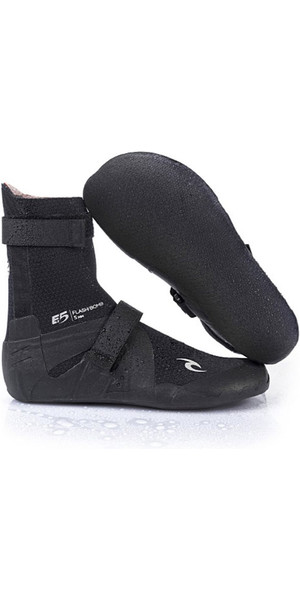 2019 Rip Curl Flashbomb 3 mm splitneus Neopreen boot ZWART WBO7HF