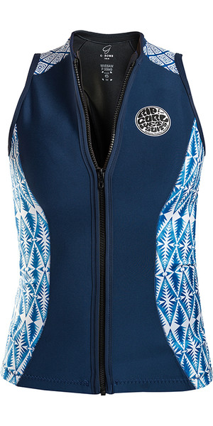 2018 Rip Curl G-bom 1 mm mouwloos neopreenvest Blauw WVE6BW