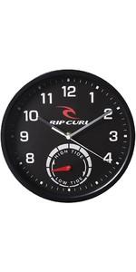 2020 Rip Curl Tide Wall Clock Black A1101