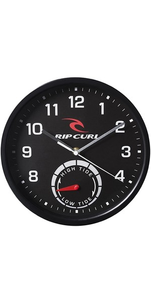 2019 Rip Curl Tide Wall Clock Black A1101