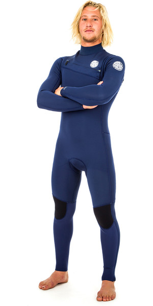 2019 Rip Curl Aggrolite 3 / 2mm Chest Zip Winsuit NAVY WSM9QM