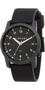 2021 Rip Curl Cambridge Silicone Montre Noir A3088