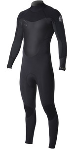 2019 Rip Curl Dawn Patrol 3/2mm Back Zip Wetsuit BLACK WSM8DM