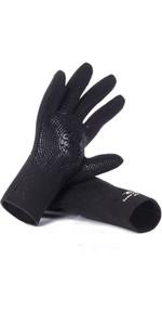 2020 Rip Curl Dawn Patrol 3mm Handsker WGLYBM - Sort