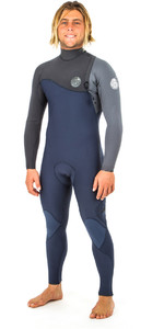 2019 Rip Curl E-Bomb Pro 4/3mm Zip Free Wetsuit SLATE WSM8QE