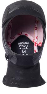 2020 Rip Curl Flashbomb 3mm Neoprene Hood WHOYGM - Black
