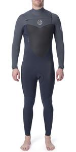 2020 Rip Curl Flashbomb 3/2mm GBS Chest Zip Wetsuit Grey WSU7MF