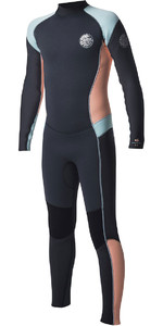 Rip Curl Junior Dawn Patrol 4/3 mm GBS Volver Zip Wetsuit Peach WSM6BJ