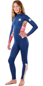 2021 Rip Curl Junior Girls Dawn Patrol 3/2mm Back Zip Wetsuit WSMYAS - Pink